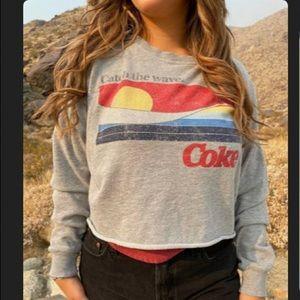 ✨Coca Cola Crop Sweatshirt ✨